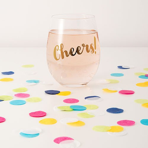 Bright Summer Mix Jumbo Party Confetti - Pink  Green  Blue