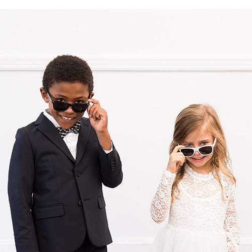 Cool Kid's Sunglasses - Black