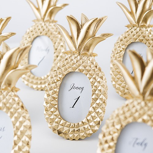 Mini Gold Pineapple Photo Frame