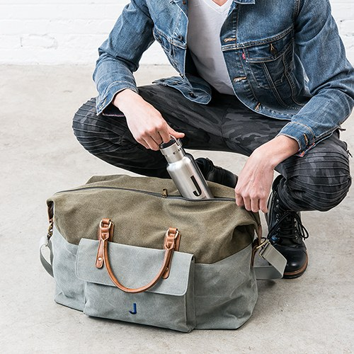 Canvas Weekender Travel Bag