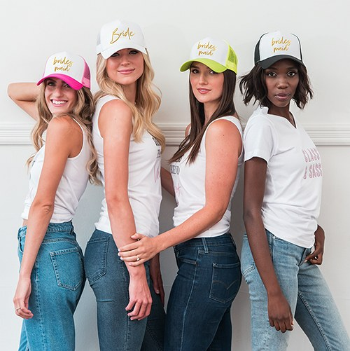 Wedding Party Snapback Trucker Hats - Bridesmaid