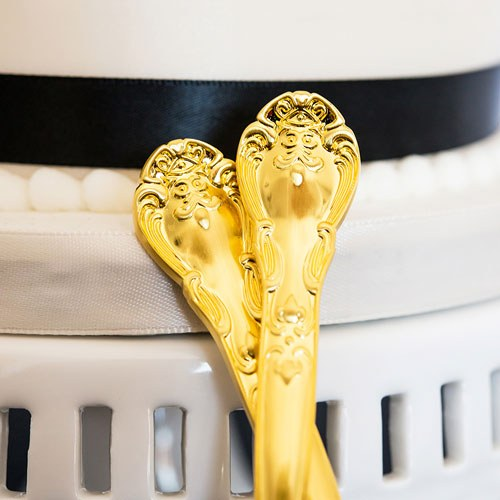 Classic Gold Wedding Cake Knife Sets