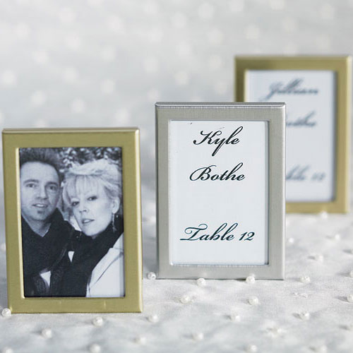 Wedding Reception Easel Back Mini Photo Frames