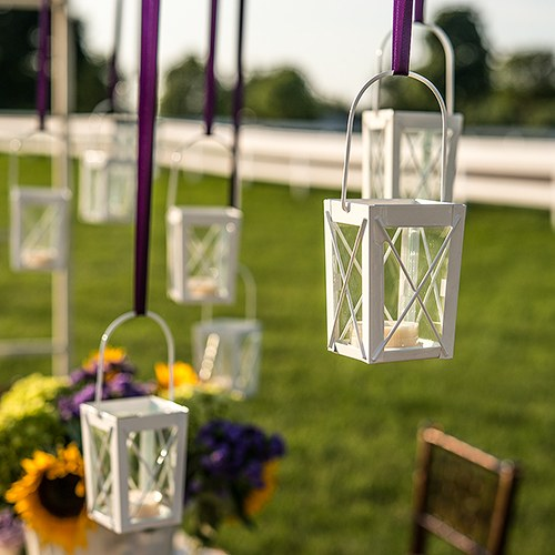 Mini lanterns with hanger weddingstar