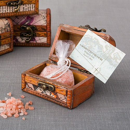 Treasure Map Wedding Favor and Place Card