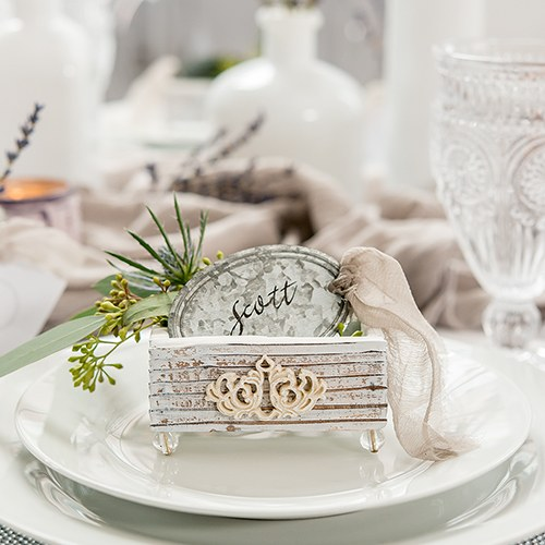 Shabby Chic Wedding Favour Boxes