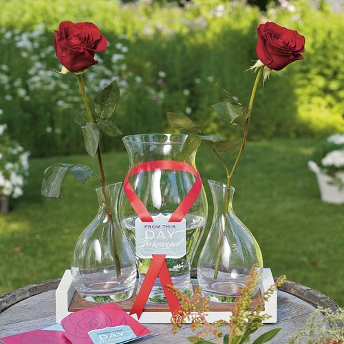 Rose Wedding Ceremony Set