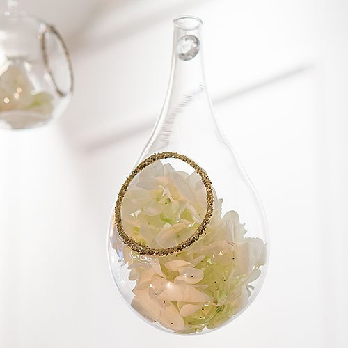 Large Blown Glass Tear Drops Wedding Favor