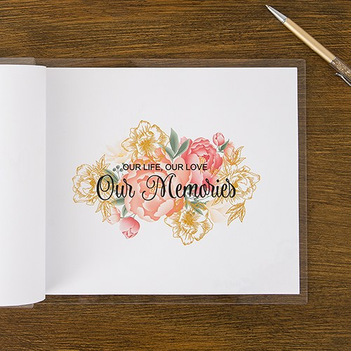 Personalized Wedding Gifts Canada: Personalized Acrylic Wedding Guest Book
