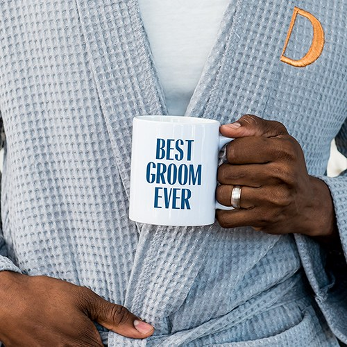 Personalized Coffee Mug - Best Groom Ever