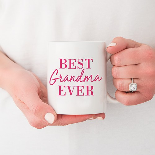 Personalized Coffee Mug - Best Grandma Ever
