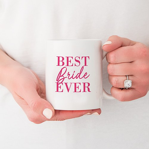 Personalized Coffee Mug - Best Bride Ever