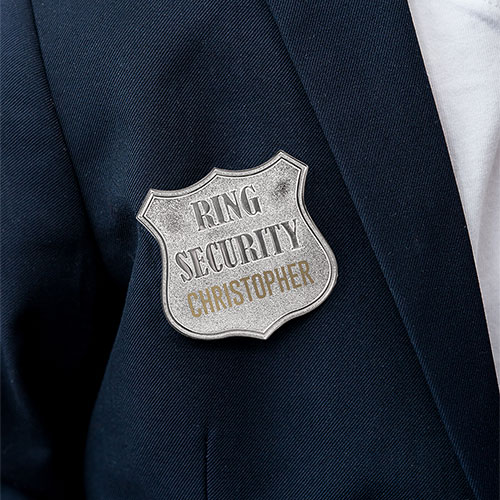 Ring Security Badge The Knot Shop - Ring security badge template