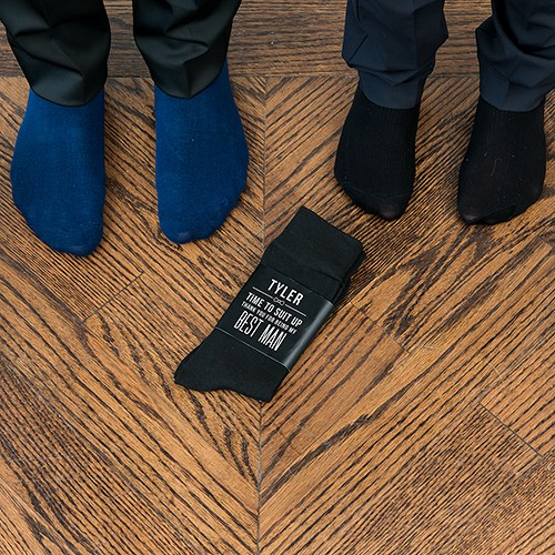 groomsmen personalized dress socks gift best