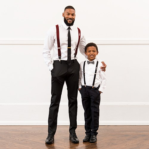 suspenders mens wedding groom attire tuxedo