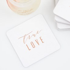 bb346fe7a929 Personalized Paper Coasters - Square