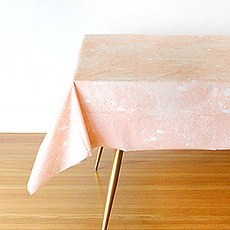 Blush Whirlwind Table Cover