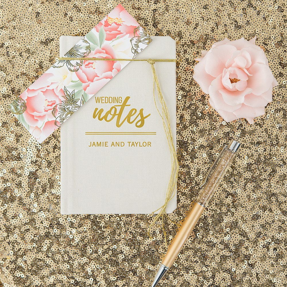 Personalized Vow Pocket Notebook – Wedding Notes