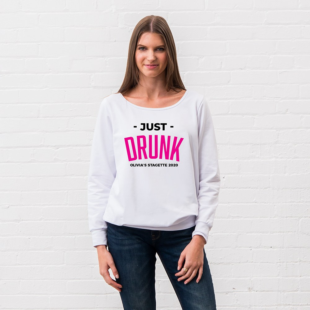 Personalized Bridal Party Wedding Sweater - Just Drunk