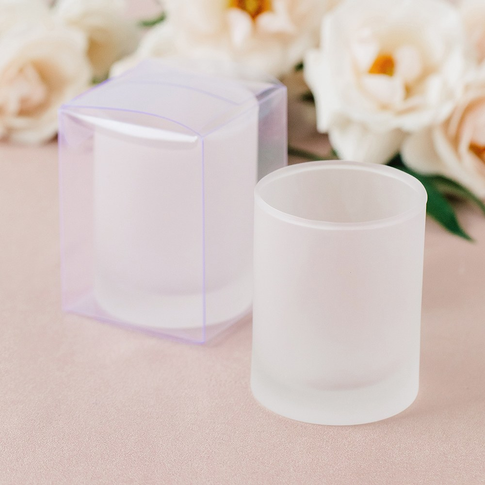 Shot Glass Clear Plastic Gift Box