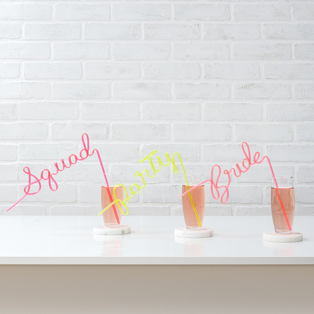 Bachelorette Party Silly Straw - Squad
