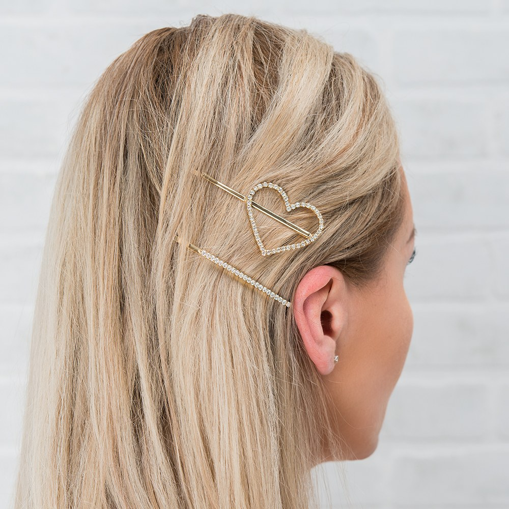 Custom Bridal Party Hair Clips - Bride Tribe