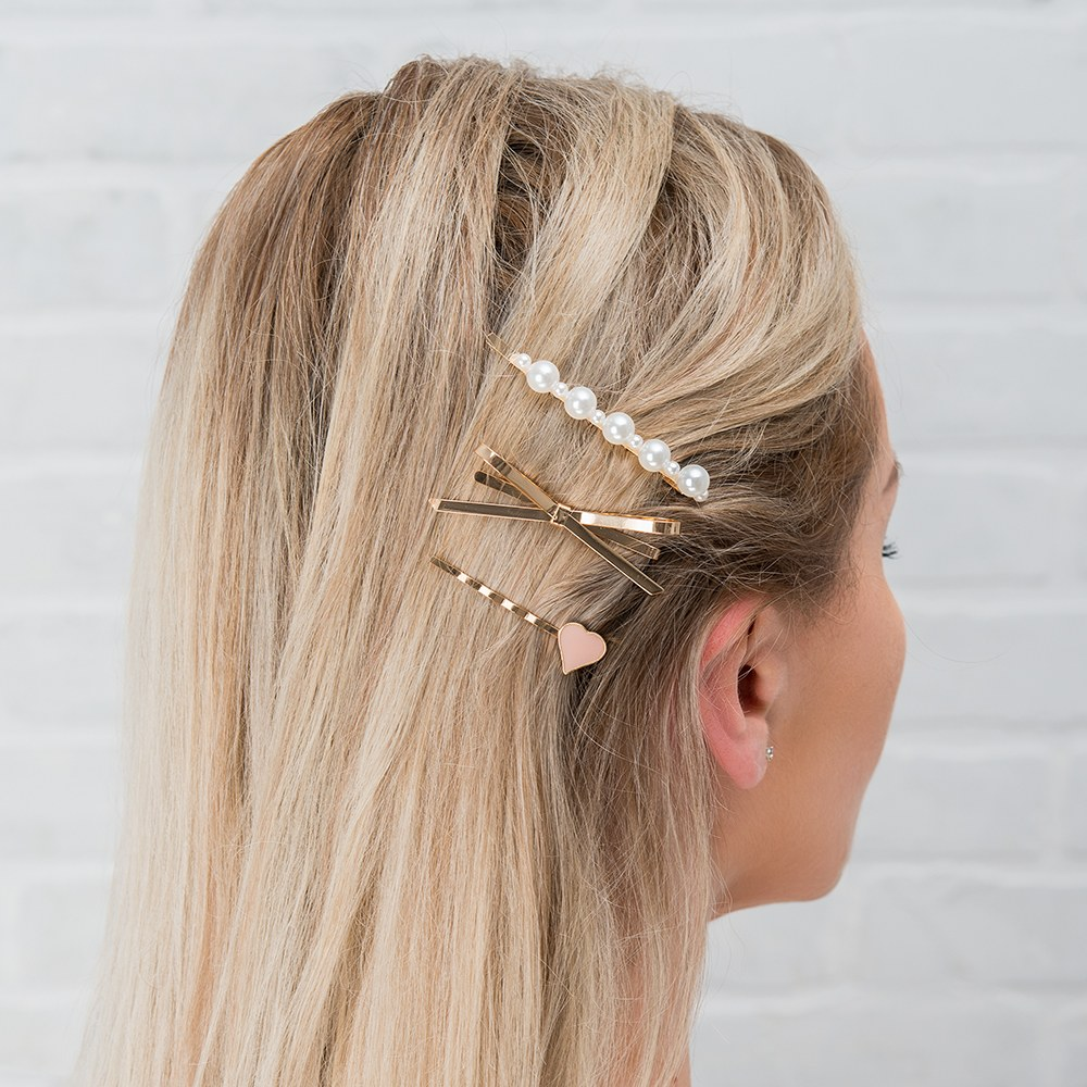 Custom Bridal Party Hair Clips - Couldn't Tie The Knot Without You