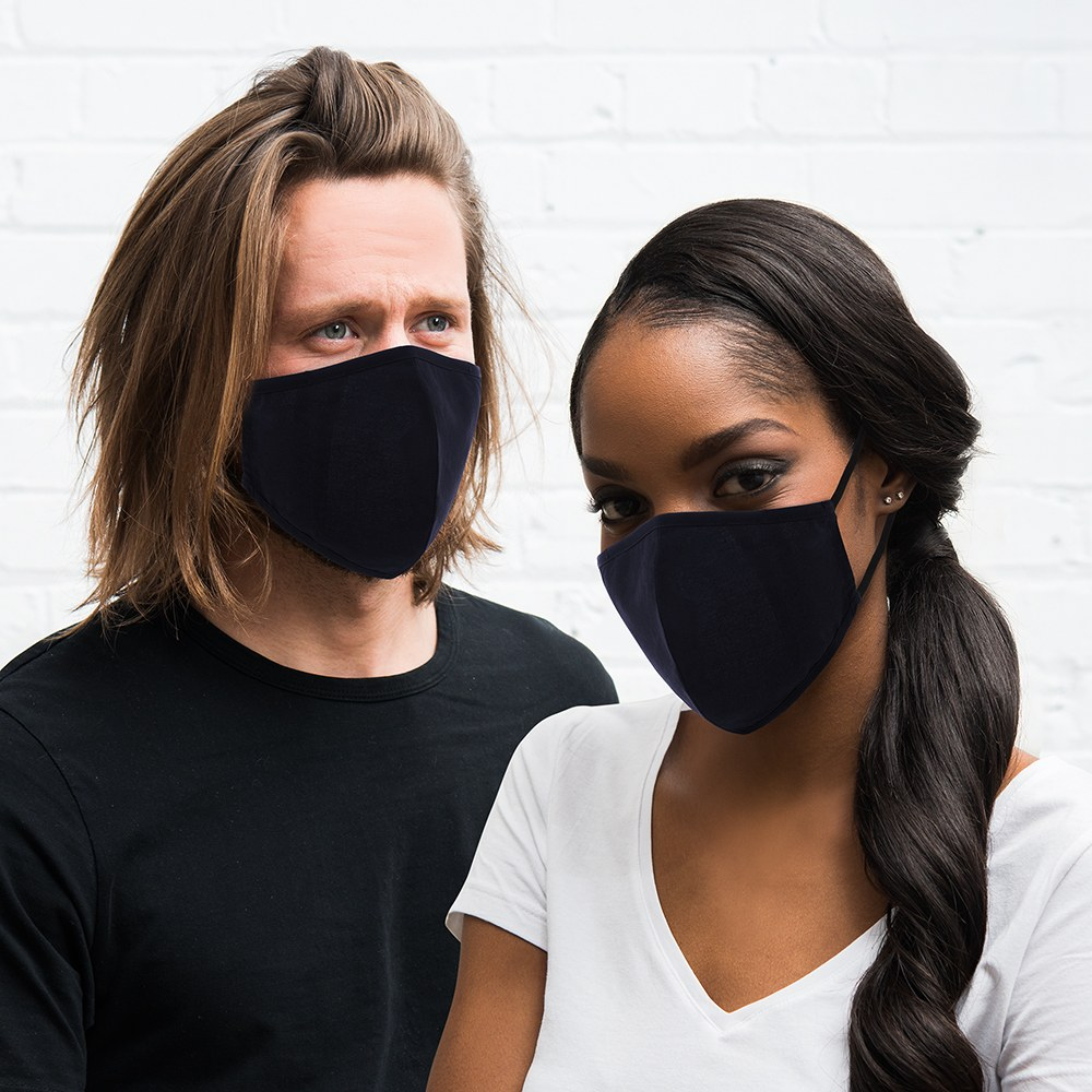 Protective Cloth Face Mask - Navy