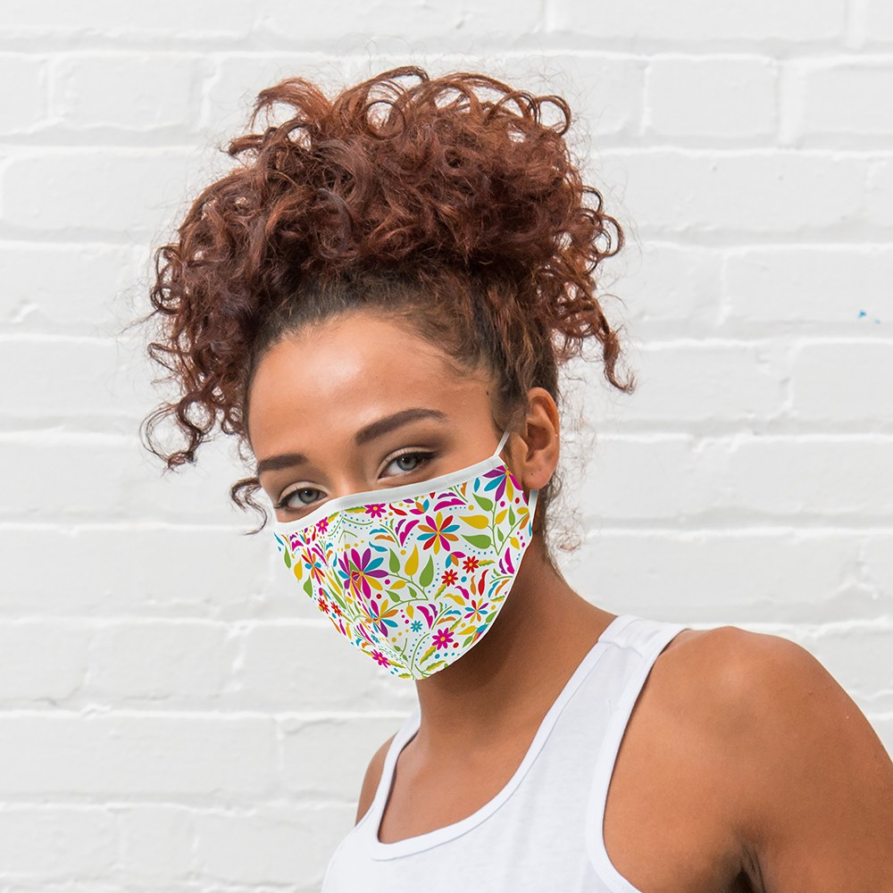 Women's Protective Cloth Face Mask - Fiesta Floral
