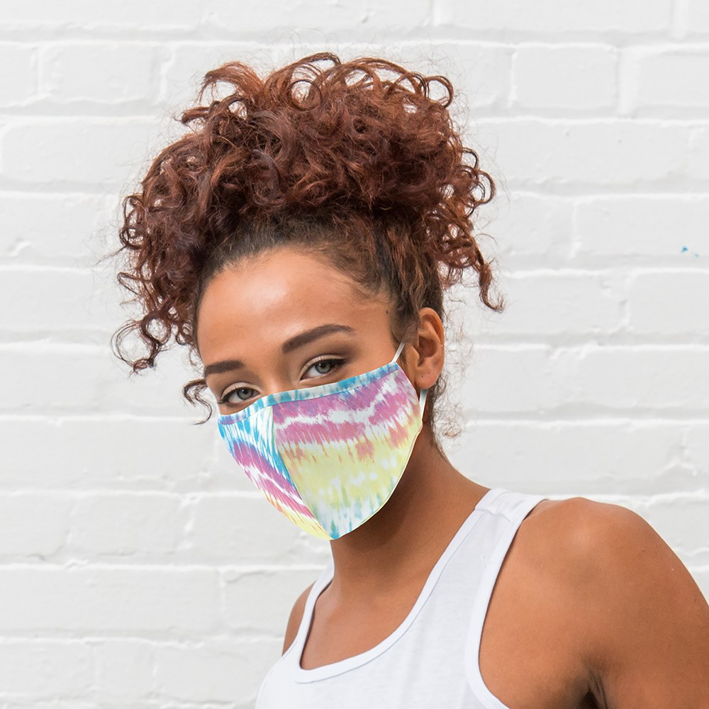 Women's Protective Cloth Face Mask - Tie Dye