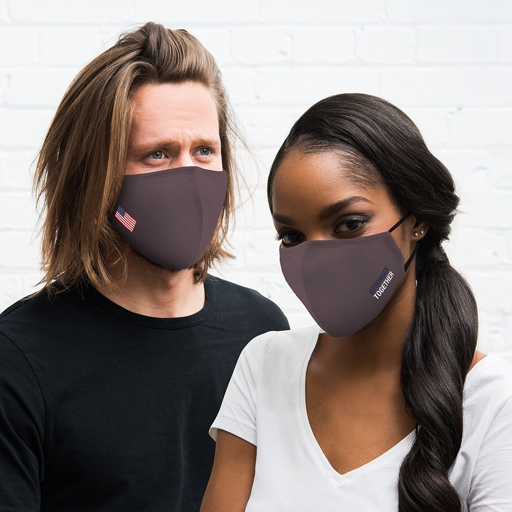 Adult Protective Cloth Face Mask - USA Stronger Together