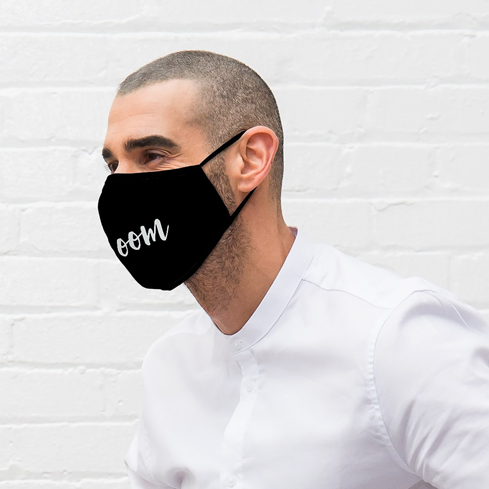 Adult Protective Cloth Face Mask - Groom