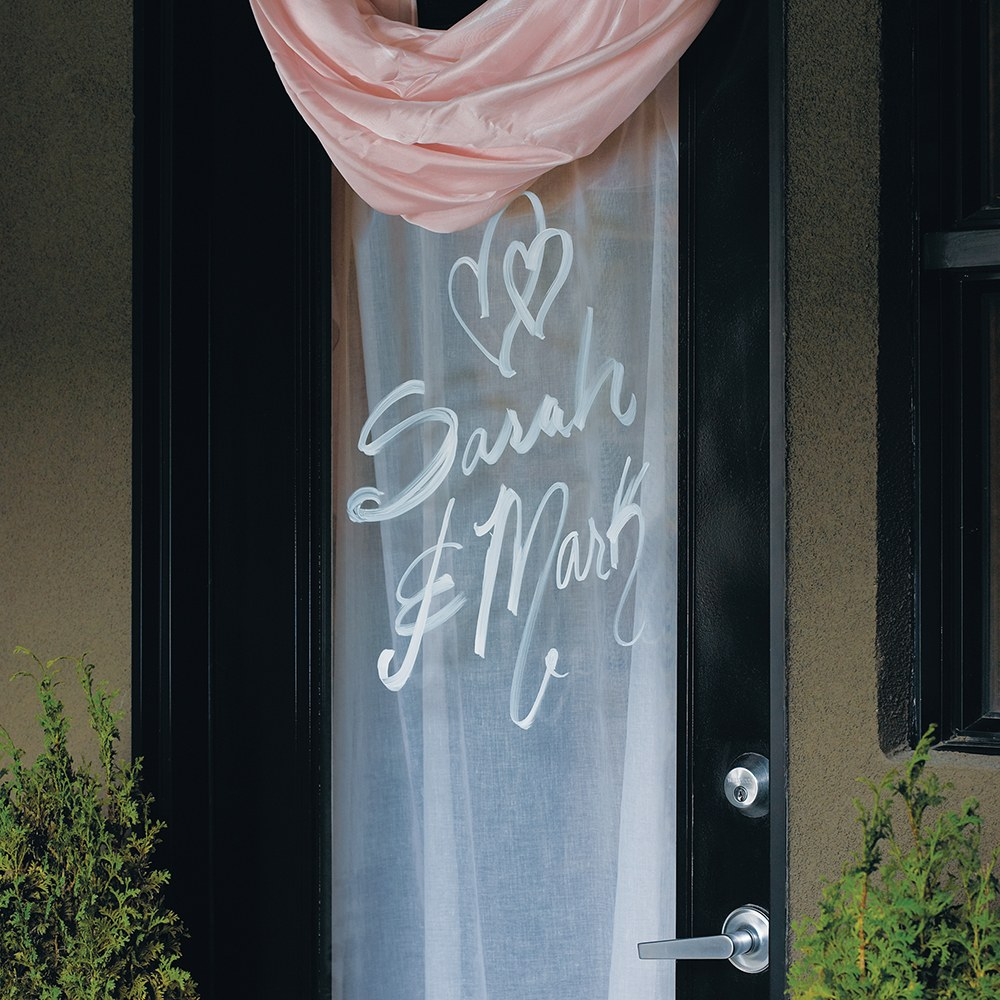 Removable Chalk Wedding Markers