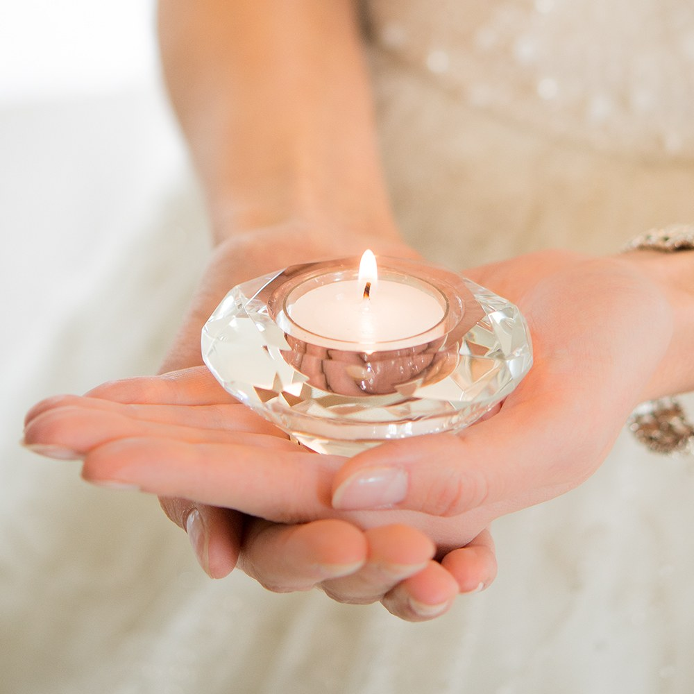 Crystal Wedding Tea light Candle Holders