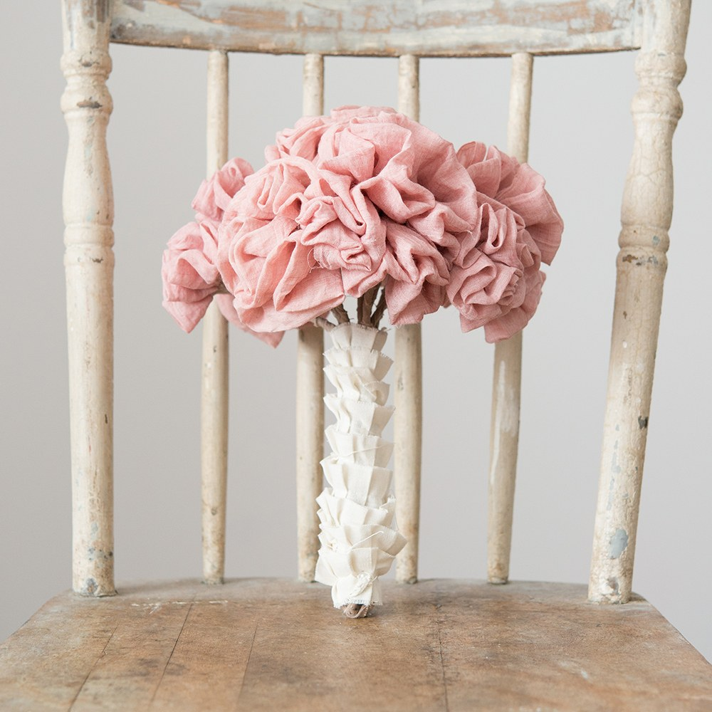 Ruffled Fabric Ribbon Trim