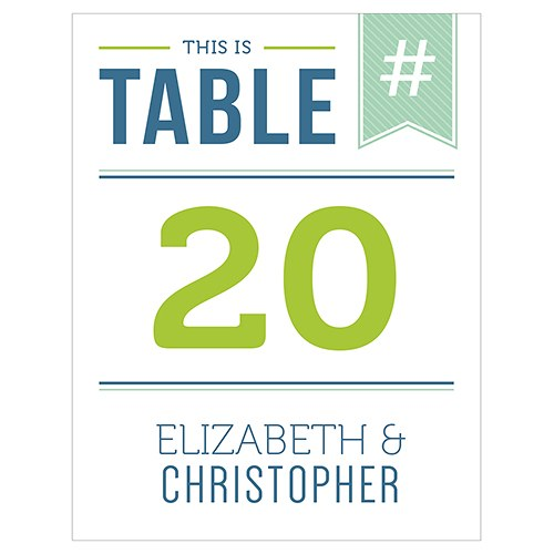 Smart Type Table Numbers