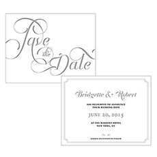 Expressions Save The Date Card