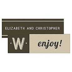 Bistro Bliss Rectangular Favor Tag