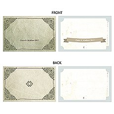 Vintage Medley Large Rectangular Card Set