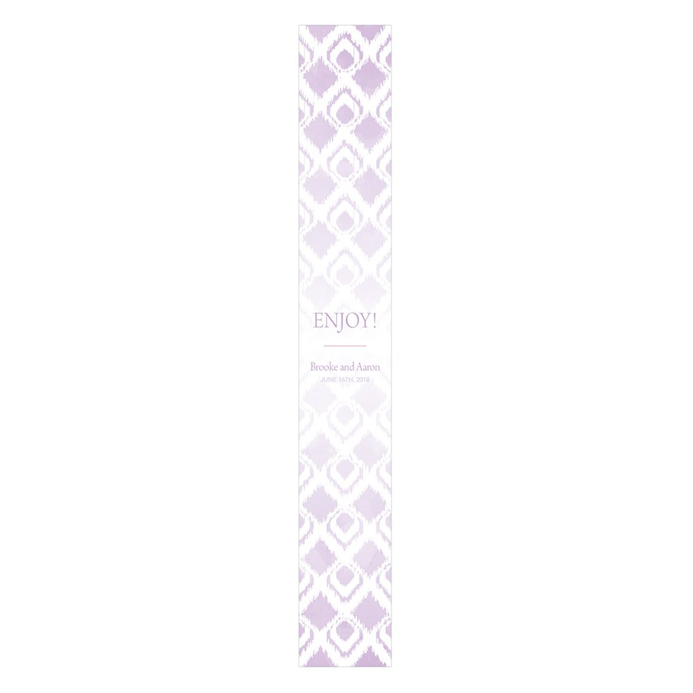 Ikat Favor Box Wrap