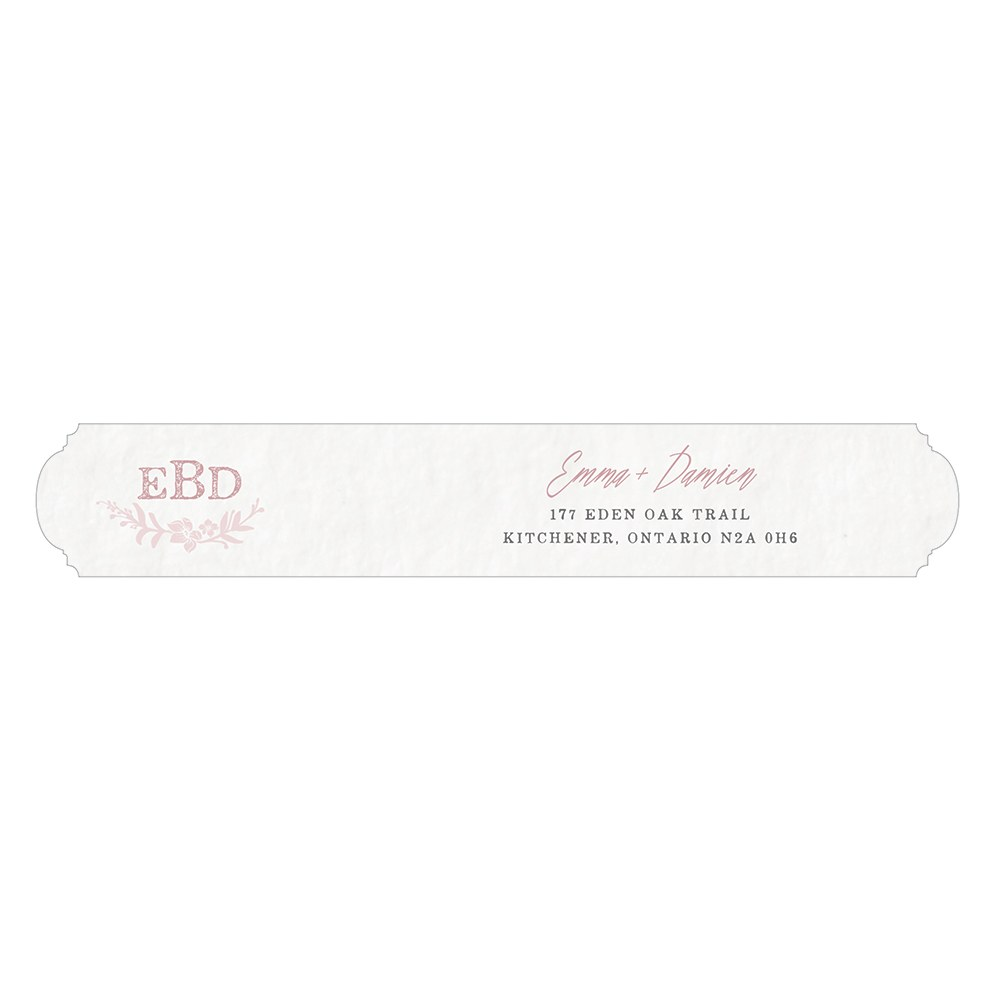 Modern Fairy Tale Small Return Address Label