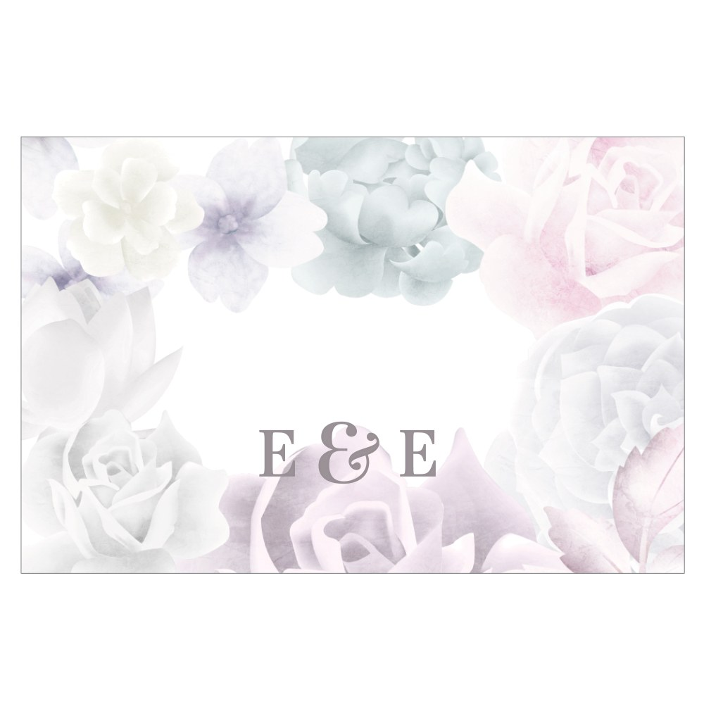 Floral Dreams Large Rectangular Card