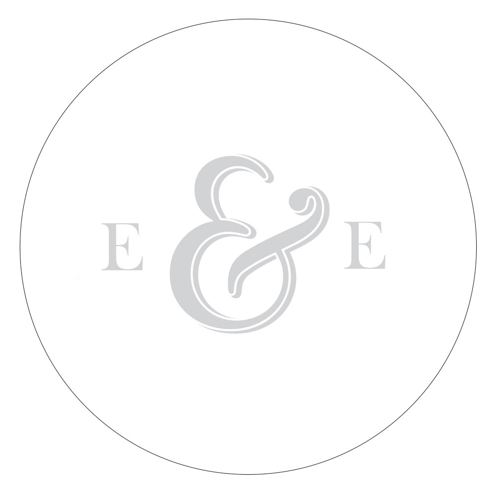 Monogram Simplicity Small Sticker   Simple Ampersand