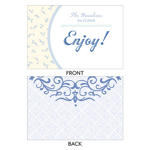 Vintage Romance Assorted Flat Place Cards   Bluebells