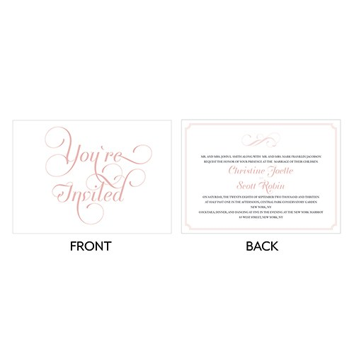 Expressions Wedding Invitation