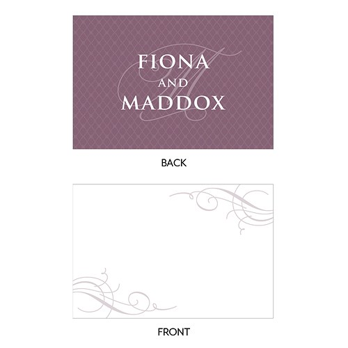 Contemporary Vintage Large Rectangular Tag