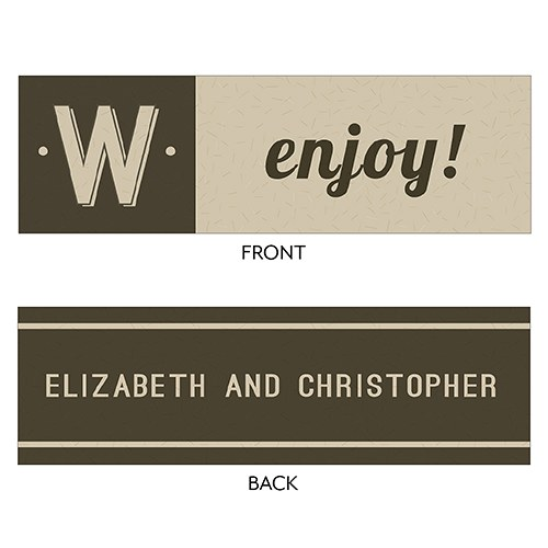Bistro Bliss Small Rectangular Favor Tag