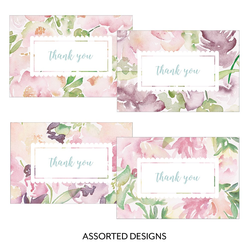 Garden Party Assorted Flat Place Card