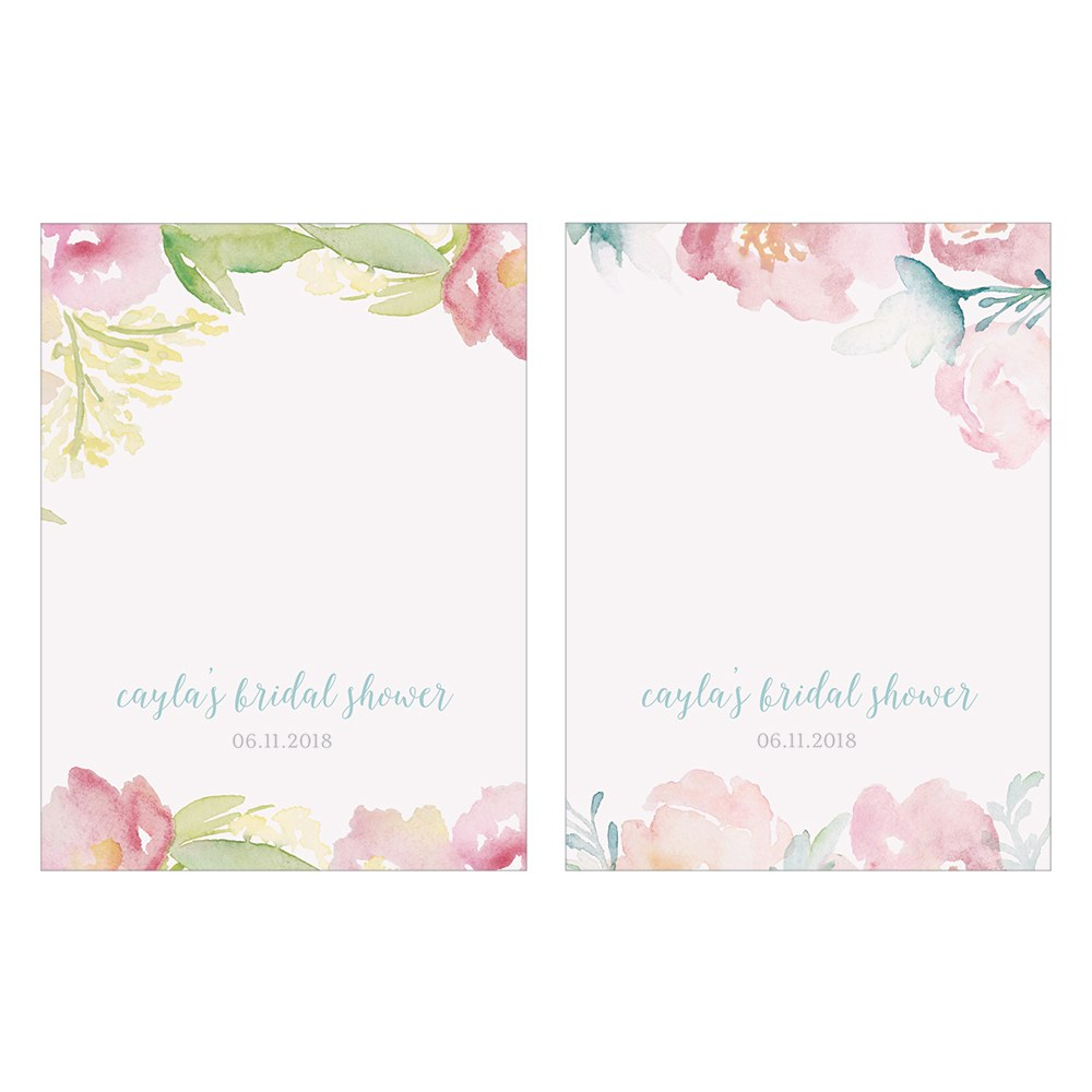 Garden Party Assorted Place Card With Fold