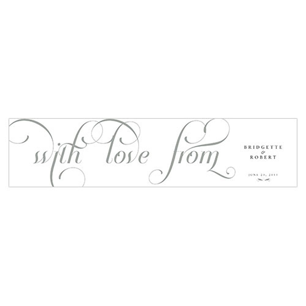 Expressions Wedding Favor Box Wrap